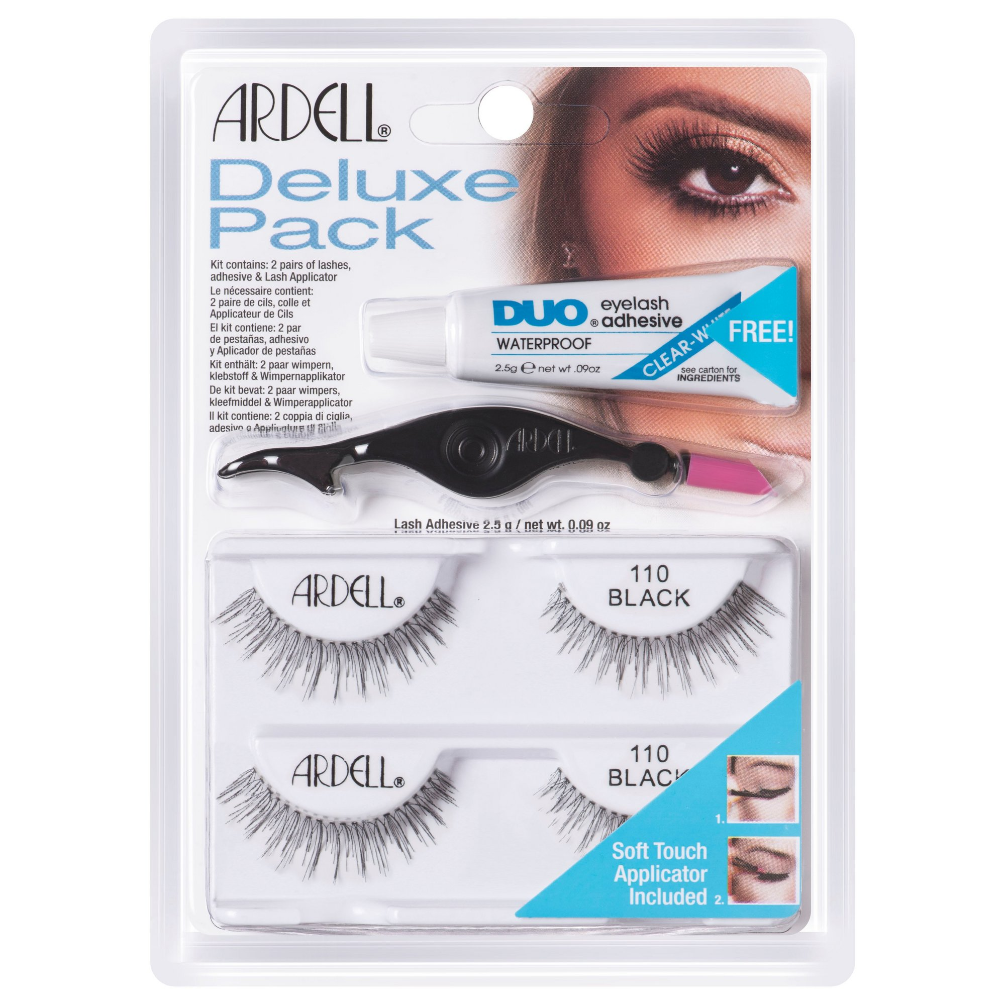 Image of Ardell Deluxe False Lashes Kit 110