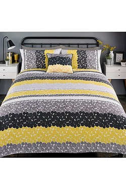 Dotty Stripe Duvet Set