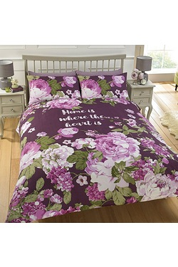 Home Is Where The Heart Is Duvet Set