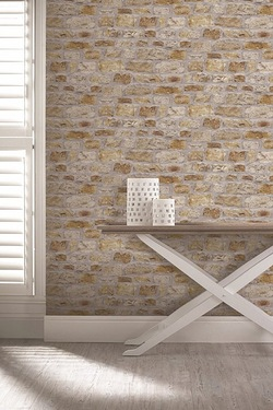 Country Stone Wallpaper