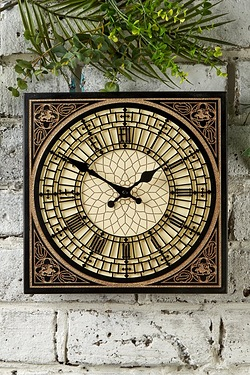 Little Big Ben Outdoor Wall Clock