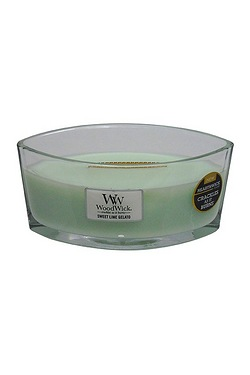 Woodwick Sweet Lime Gelato Hearthwick Candle