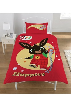 Bing Bunny Hoppity Vooosh Single Duvet Set