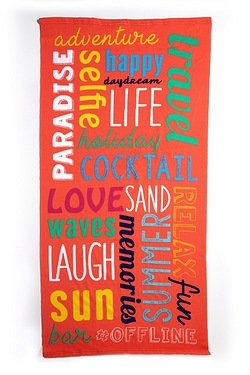 Paradise Sun Beach Towel