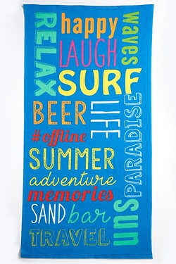 Summer Adventure Beach Towel