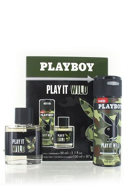 Playboy Play It Wild Gift Set