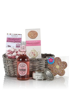The Pink Gin and Treats Hamper