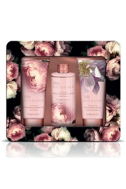 Baylis and Harding Boudoire Three Piece Tin Set