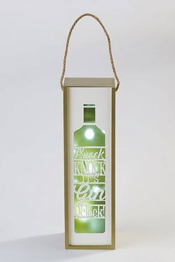Light Up Gin Box