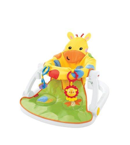 Fisher Price Sit Me Up Giraffe Floor Seat Tray Studio