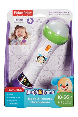 Fisher Price Laugh and Learn Microphone