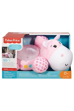Fisher Price Pink Hippo Snuggle Soother