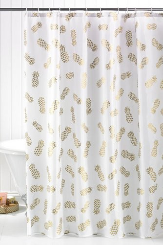 Image For Mini Pineapple Shower Curtain From Studio