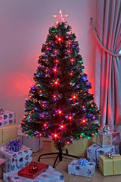 Fibre Optic LED Saturn Tree