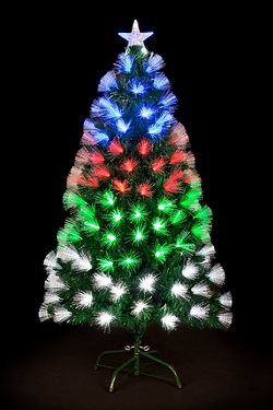 Fibre Optic LED Snowburst Tree