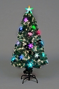 Fibre Optic LED Cosmos Tree