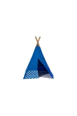 Kids Tepee Blue Stars