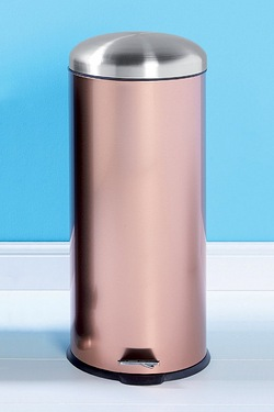 30L Copper Stainless Steel Bin