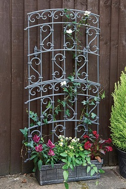 Pack Of 2 Garden Fence Trellises