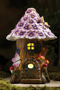 Solar Fairy Tree House