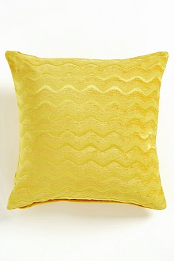 Set Of 2 Wavy Chenille Cushion Covers