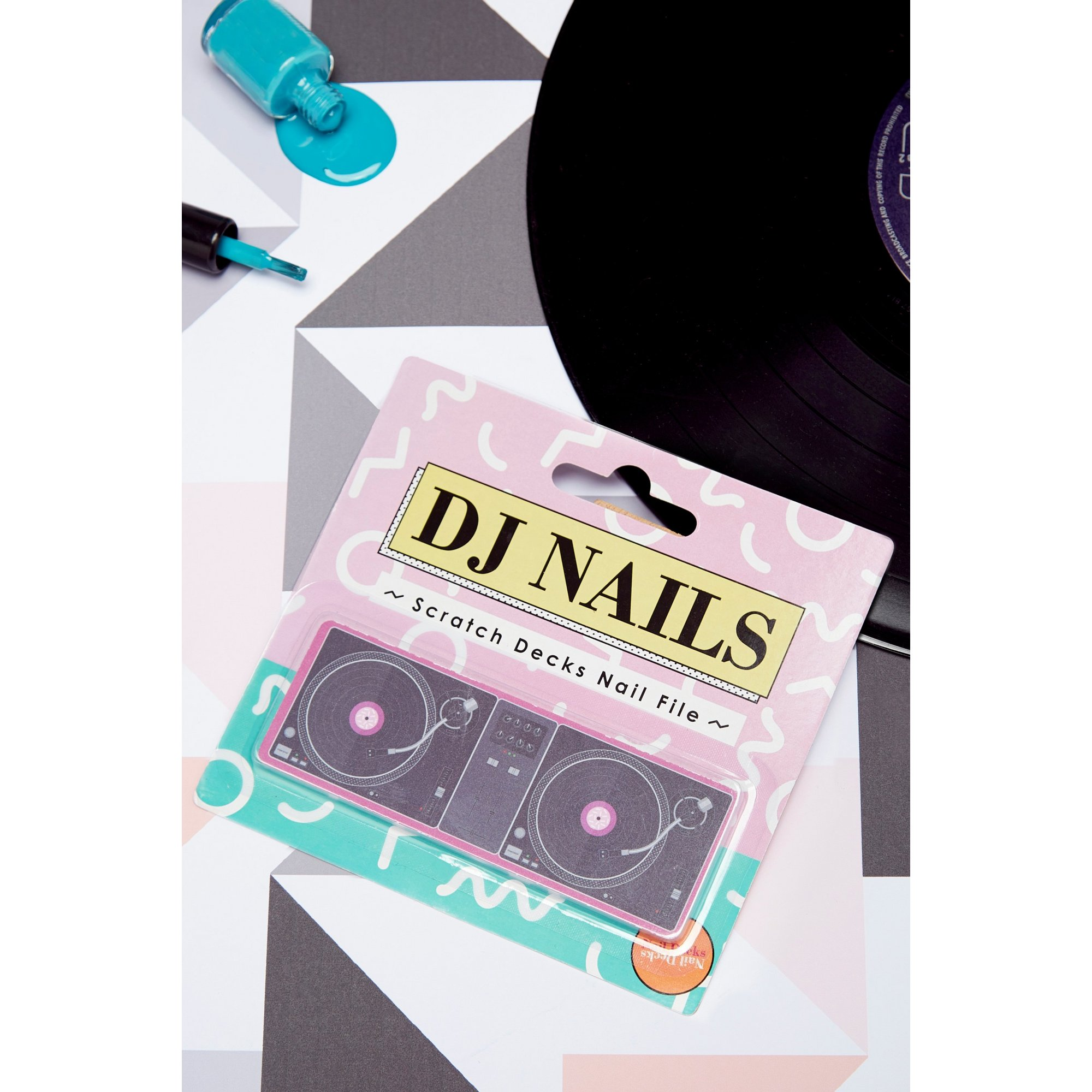 Image of DJ Scratch Decks Nail Files