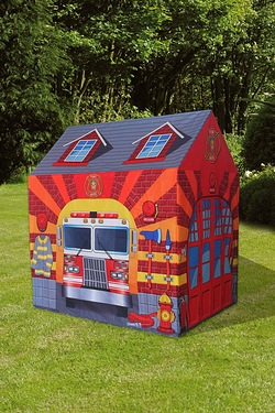 Childrens Firefighter Playhouse Tent