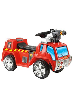 Fire Engine 6v Electric Ride On Toy Car