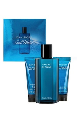 Davidoff Cool water Men's 75ml Aftershave Gift Set