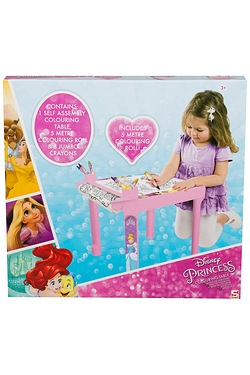Disney Princess Colouring Table