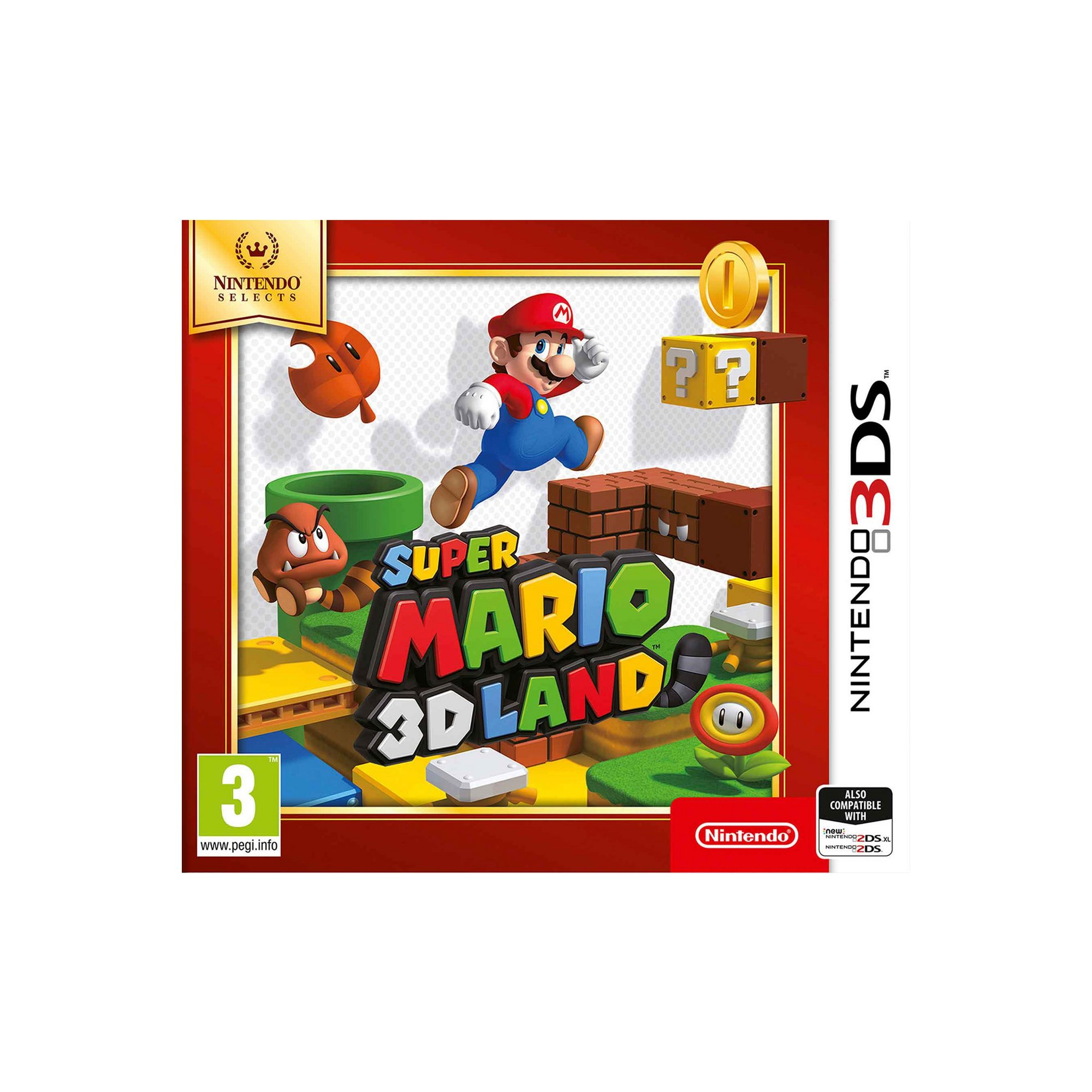 Image of 3DS: Selects Super Mario 3D