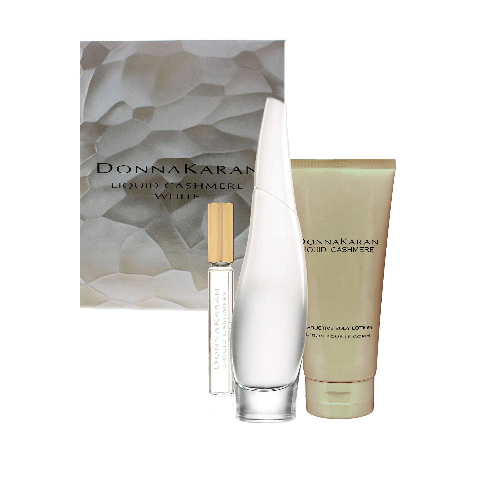 Image of DKNY Liquid Cashmere White 100ml EDP Gift Set