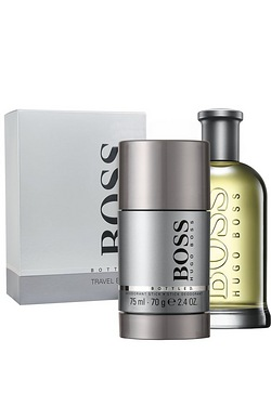 Hugo Boss Grey Mens 100ml EDT Gift Set