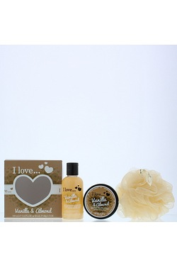 I Love 3 Piece Vanilla Mini Box Of Love Gift Set