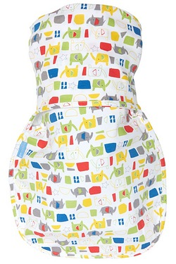 Hip Healthy Swaddle Elephant City