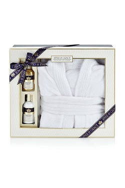 S and G Signature Bathrobe Gift Set