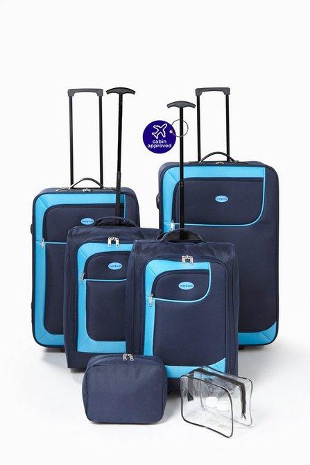39943fb0a01a 6-Piece. 6-Piece Luggage Set