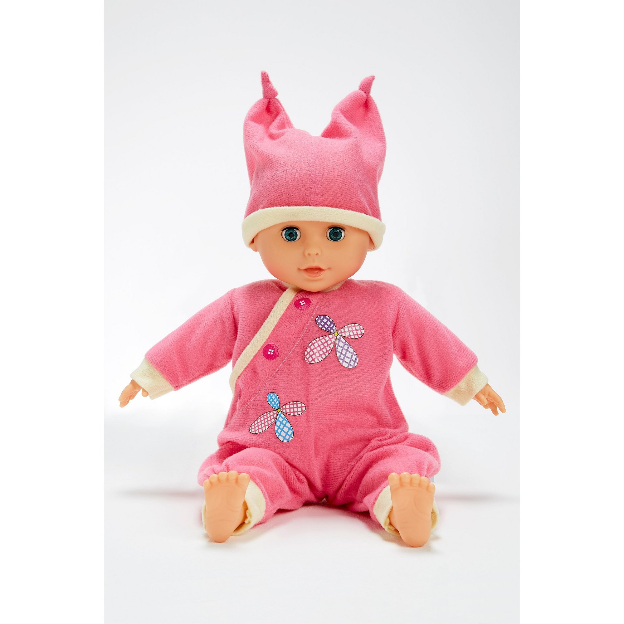 Image of Bambolina 40cm Doll with 5 Outfits and 24 Sounds