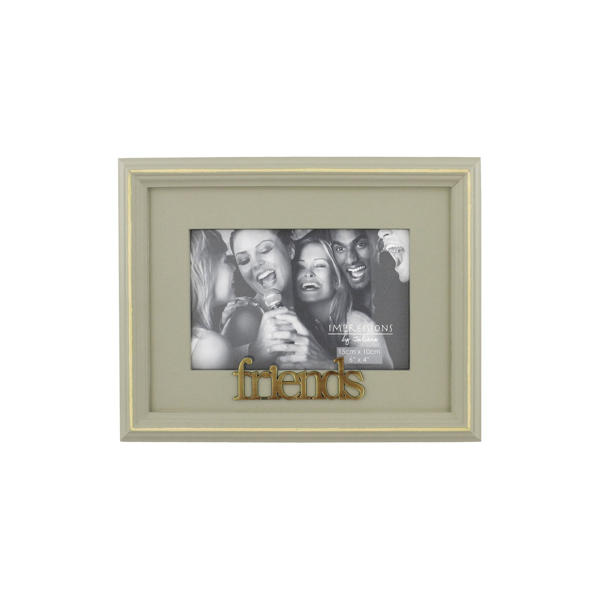 Image of Juliana Wooden Photo Frame Friends