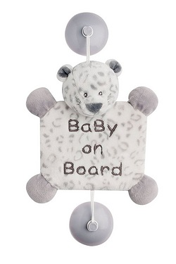 Baby On Board Lea The Snow Leopard
