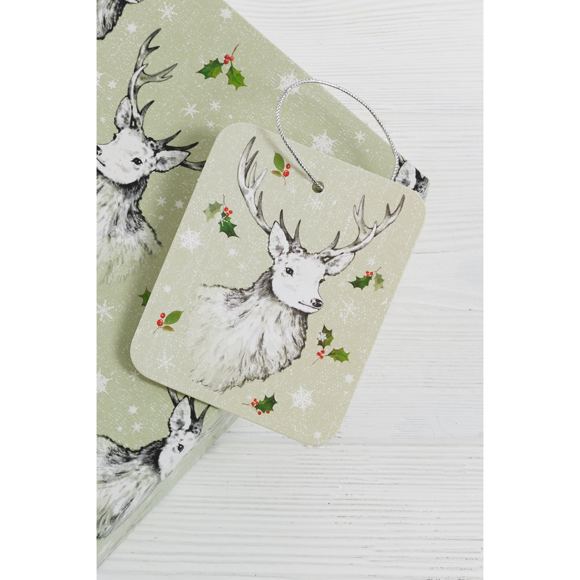 Image of 10 Stag Gift Tags