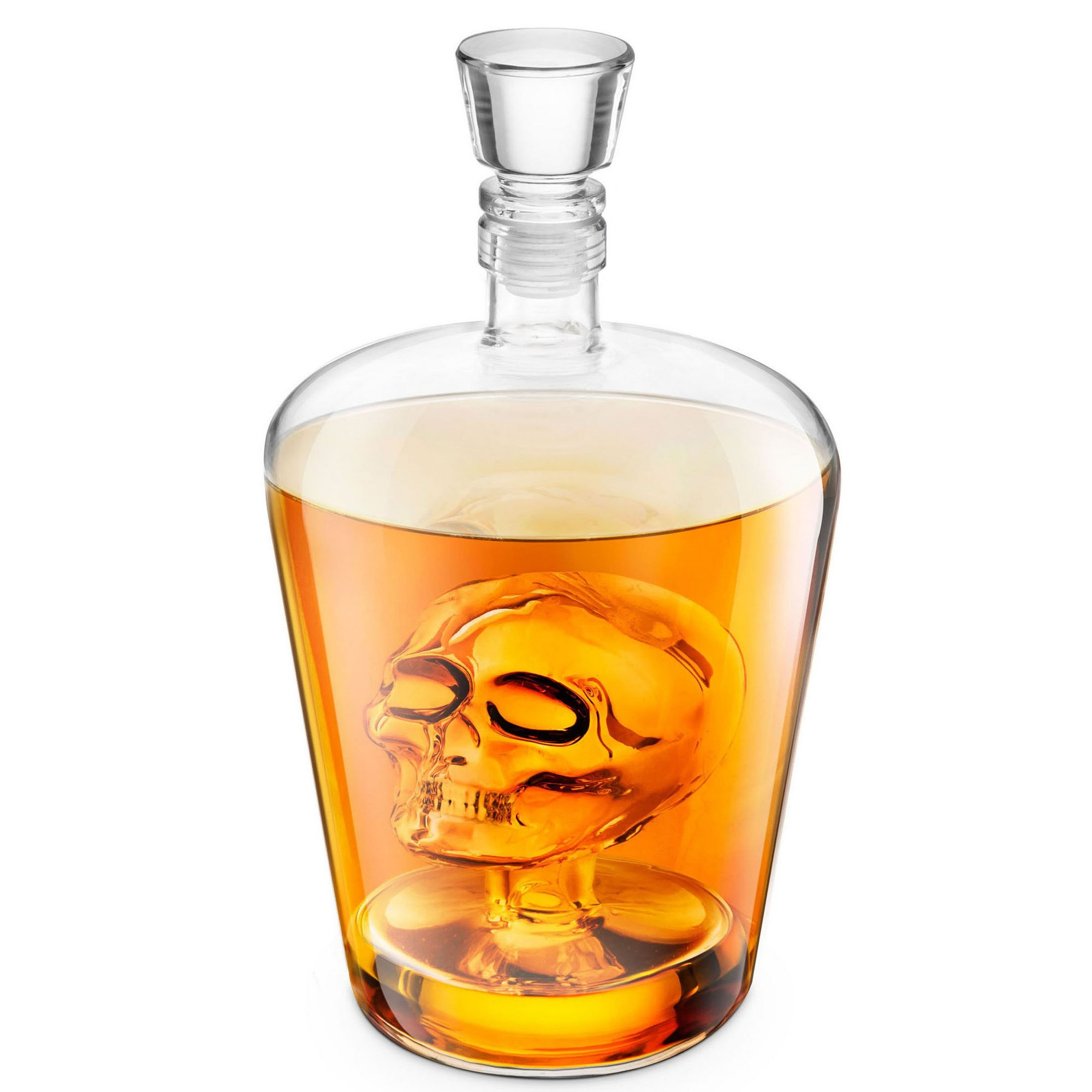 Image of Final Touch Skull Decanter
