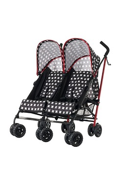 Obaby Apollo Twin Stroller - Crossfire