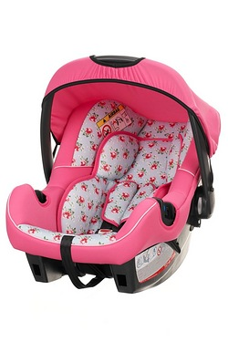 Obaby Car Seat - Cottage Rose With Hera Adaptor