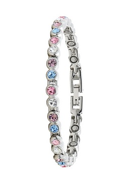 Multi Coloured Magnetic Tennis Bracelet