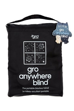 Gro Anywhere Blackout Blind Stars and Moon