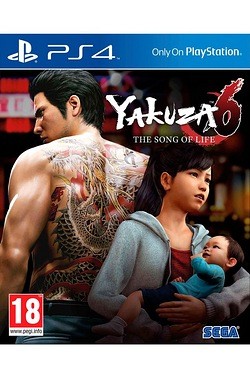 PS4: Yakuza 6: The Song of Life Launch Edition