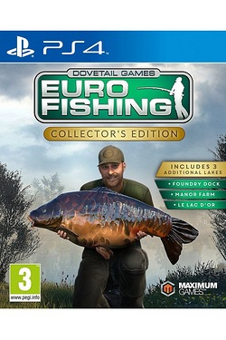 PS4: Euro Fishing Sim Collectors Edition