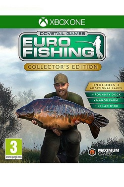 Xbox One: Euro Fishing Sim Collectors Edition