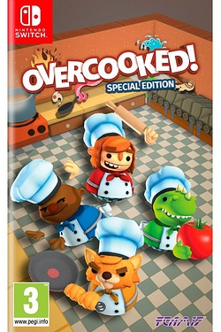 Nintendo Switch: Overcooked! Special Edition